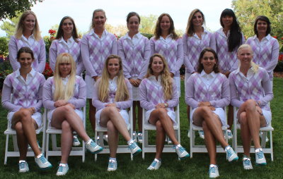 Team Europe at the 2013 PING Junior Solheim Cup
