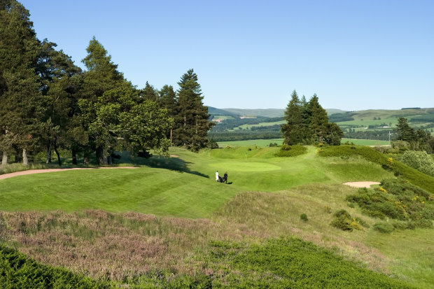 17 Hole, Queens Course at Gleneagles