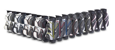 New range includes 17 cart bags with colours to match every trolley model