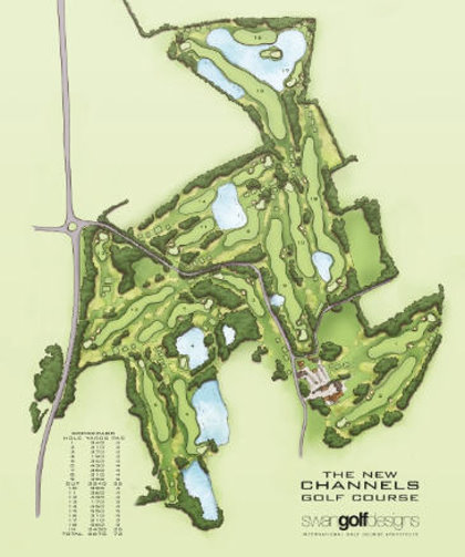 Channels Golf Course new layout