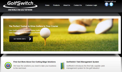 GolfSwitch website