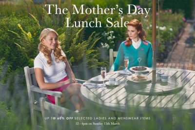 IJP Mother's Day Lunch Sale