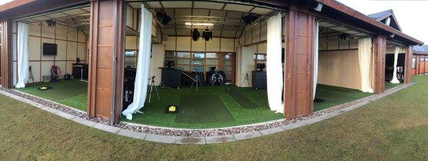 Innovative multi-surface teaching bays at St Andrews Links Golf Academy