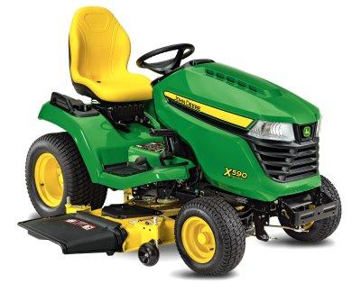 John Deere X590 Multi-Terrain lawn tractor
