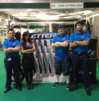 John Letters team at last year's Show