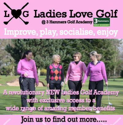 Ladies love golf leaflet