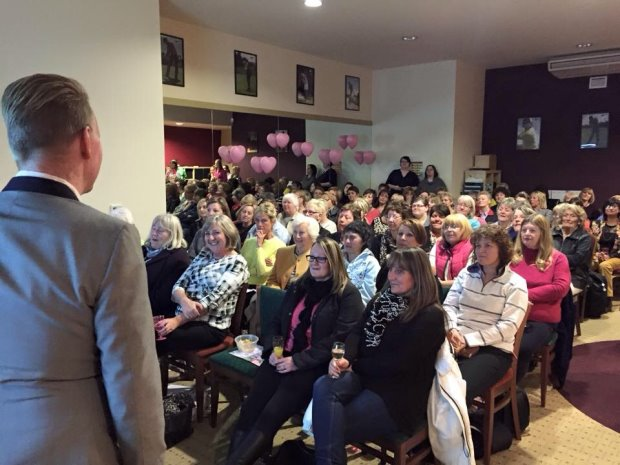 A packed room listens to details of the new Ladies Love Golf Academy at 3 Hammers Golf Complex, Wolverhampton