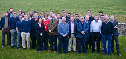Some of the UK's top golf travel trade and media on 2nd St Patrick's Golf Day at Goodwood
