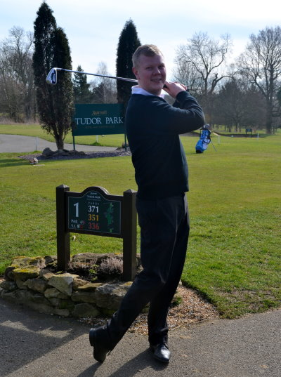 Swinging into action as new golf director at Tudor Park is James Ibbetson