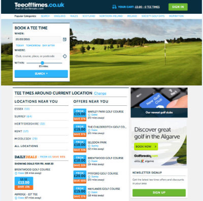 Teeofftimes.co.uk has confirmed its commitment to making the process of finding and booking a tee-time easier than ever