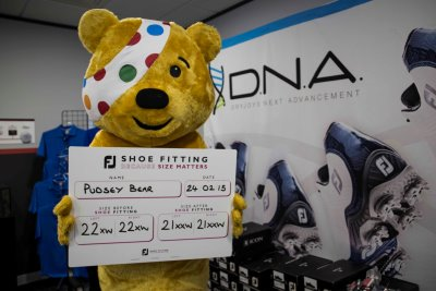Titleist and FootJoy support BBC Children in Need