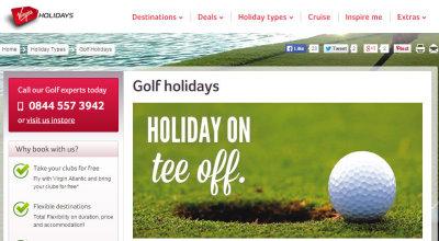 Virgin Golf Holidays