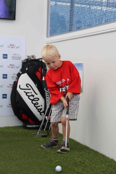 Youngster enjoys Titleist putting