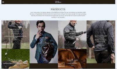 Oscar Jacobsen website