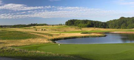 The International course, among the finest downland courses in Europe