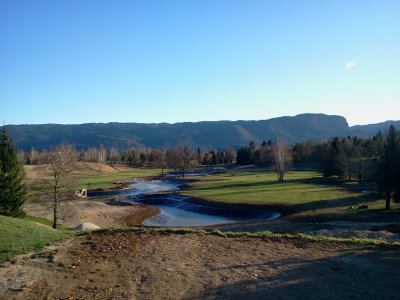 The Swan Golf Designs led renovation of the King's Course at Bled in Slovenia is now well underway