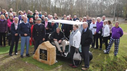 The official opening of the All-Weather Short Game Area, created by Huxley Golf at Brokenhurst Manor were attended by golfing VIPs including President of the European Tour and former Ryder Cup Captain John Jacobs OBE as well as ex-R&A Captain Air Chief Marshal Sir Patrick (Paddy) Hine GCB GBE