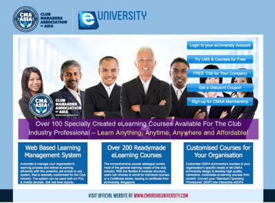 CMAA e university website