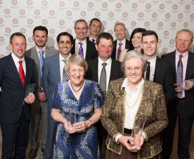 England Golf award winners