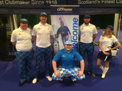 John Letters at the Scottish Golf Show
