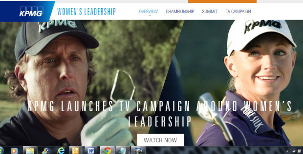 KPMG Women's Leadership TV Campaign (click image to view campaign)