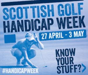 Scottish Handicap Week logo