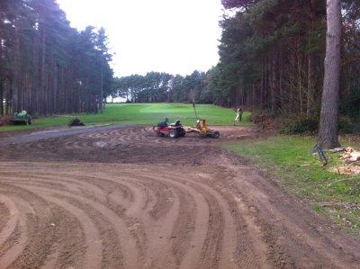 Speedcut Contractors working at Foxhills Golf Club