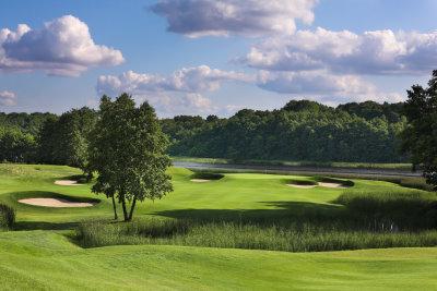 The 2nd Hole at Modry Las Golf Club, West Pomerania