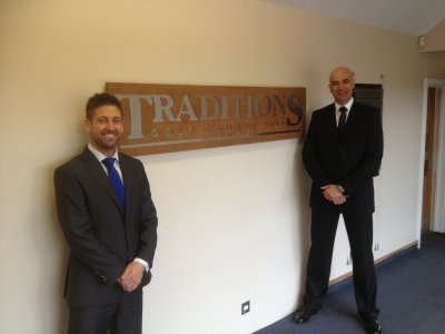 Tony Healy, MD (left) and Roger Hyder, Operations Director