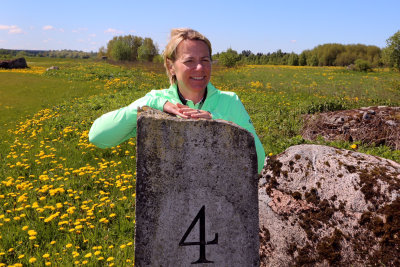 Annika Sörenstam at Estonian Golf & Country Club, the location of her fourth golf course design, her first in Europe