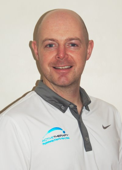 Golf physiotherapist Andrew Caldwell has worked with the PGA and England Golf
