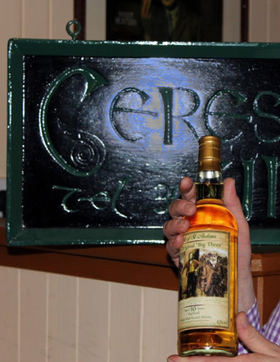 Ceres Inn The Big Three Whisky