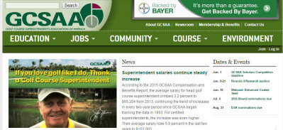 GCSAA screengrab