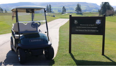 The Gleneagles Hotel, Scotland, has taken delivery of 40 new Precedent vehicles from Club Car