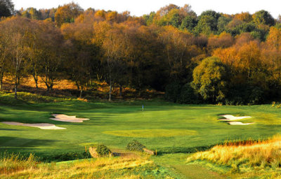 The Harry Colt designed course at Manchester Golf Club has a mix of moorland, heathland and parkland characteristics