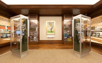 The Jack Nickaus Room in the USGA's Museum