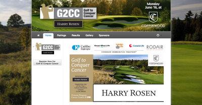 Golf Genius Tournament Website Example