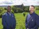 Brandon Johnson (left) and Thad Layton at Castle Stuart