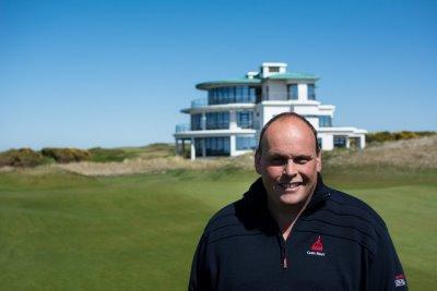 Chris Haspell at Castle Stuart Golf Links
