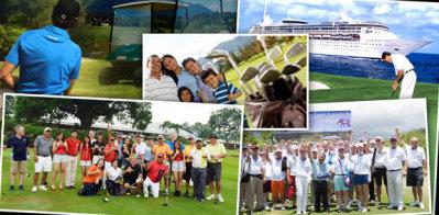 Golf Tourism Asia montage