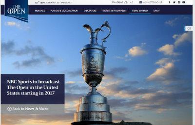NBC Open Championship agreement