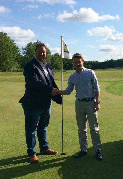 Johnathan Callister (left) and Simon Jones