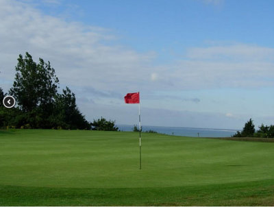 Sene Valley Golf Club: stunning sea views