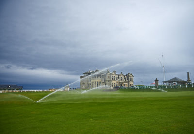With the Toro irrigation system installed, The Old Course at St Andrews maximises the latest in water-saving irrigation technology