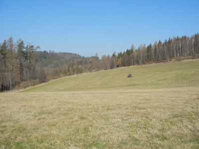 Tosovice Resort: view to the proposed 5th green