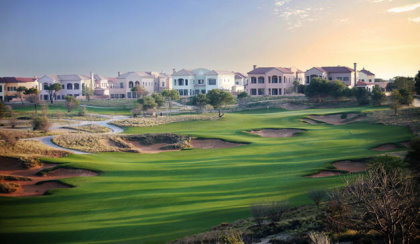 Jumeirah Golf Estates, Fire Course, 6th hole
