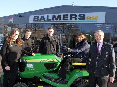 Balmers GM Ltd was founded as, and remains, a family business: (left to right) Joanne Balmer-Smith, Thomas Balmer, Mark Balmer, Ann Balmer and David Balmer