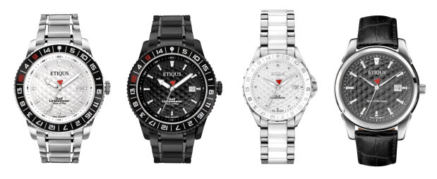 Some ETIQUS timepieces