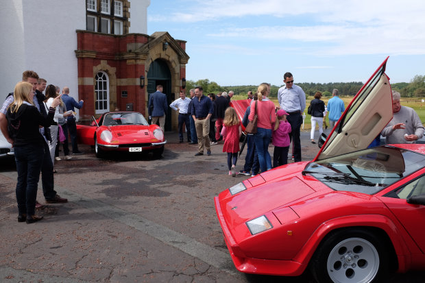 Formby Golf Club Hosts Sports and Classic Car Day