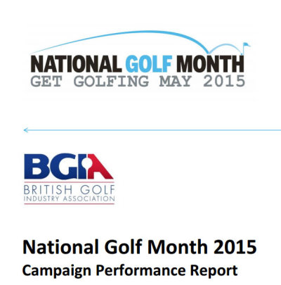National Golf Month report